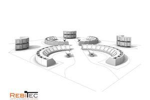 Les COLUMBARIUMS : quelques exemples de projets